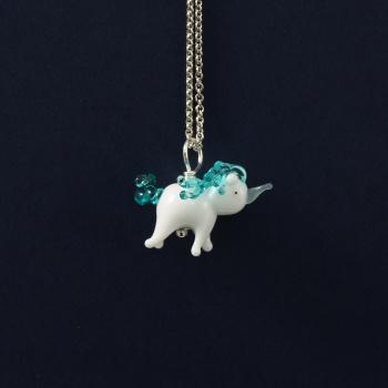 A Turquoise Unicorn