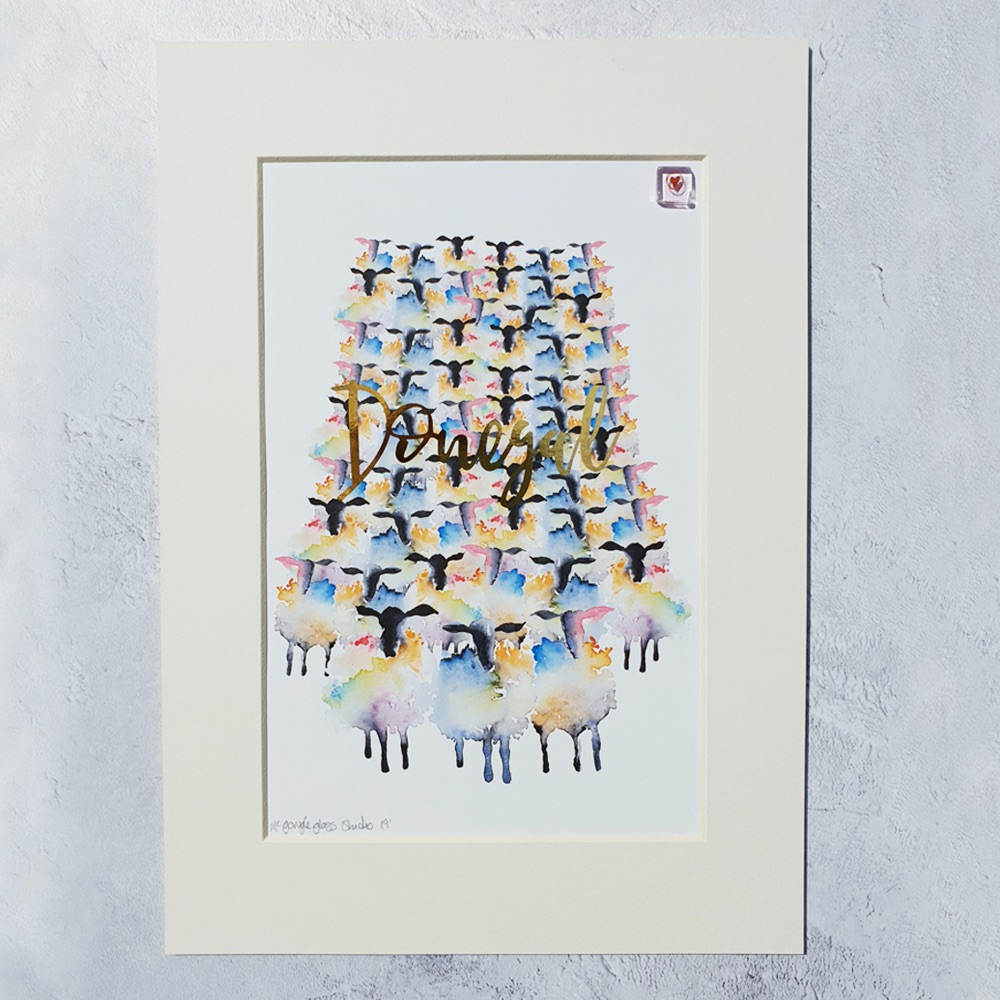 Donegal Sheep Print