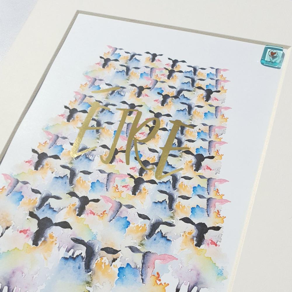 EIRE Sheep Print