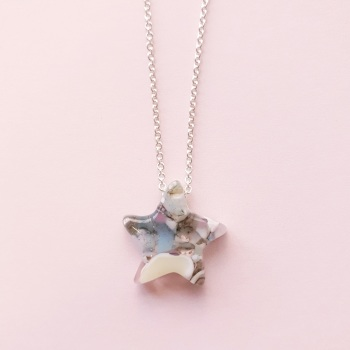 Sea star silver shooting star