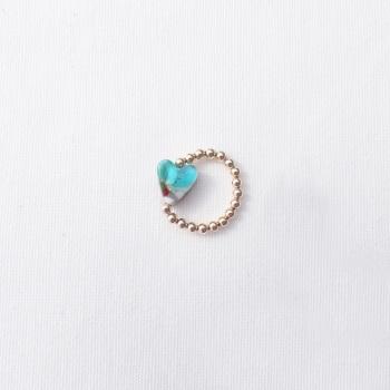 Simply Gold Ring (light aqua)
