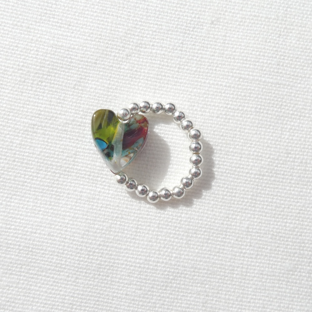 Simply Silver Ring (multicolours)