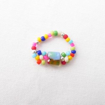 Simple Power Flower Ring #2