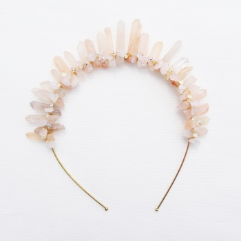 Rose Quartz crown