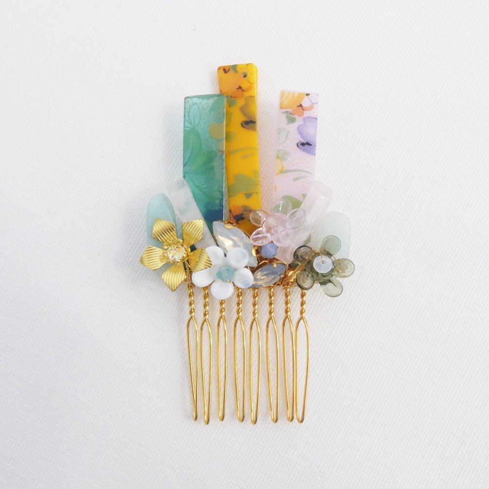 Glass Haircomb