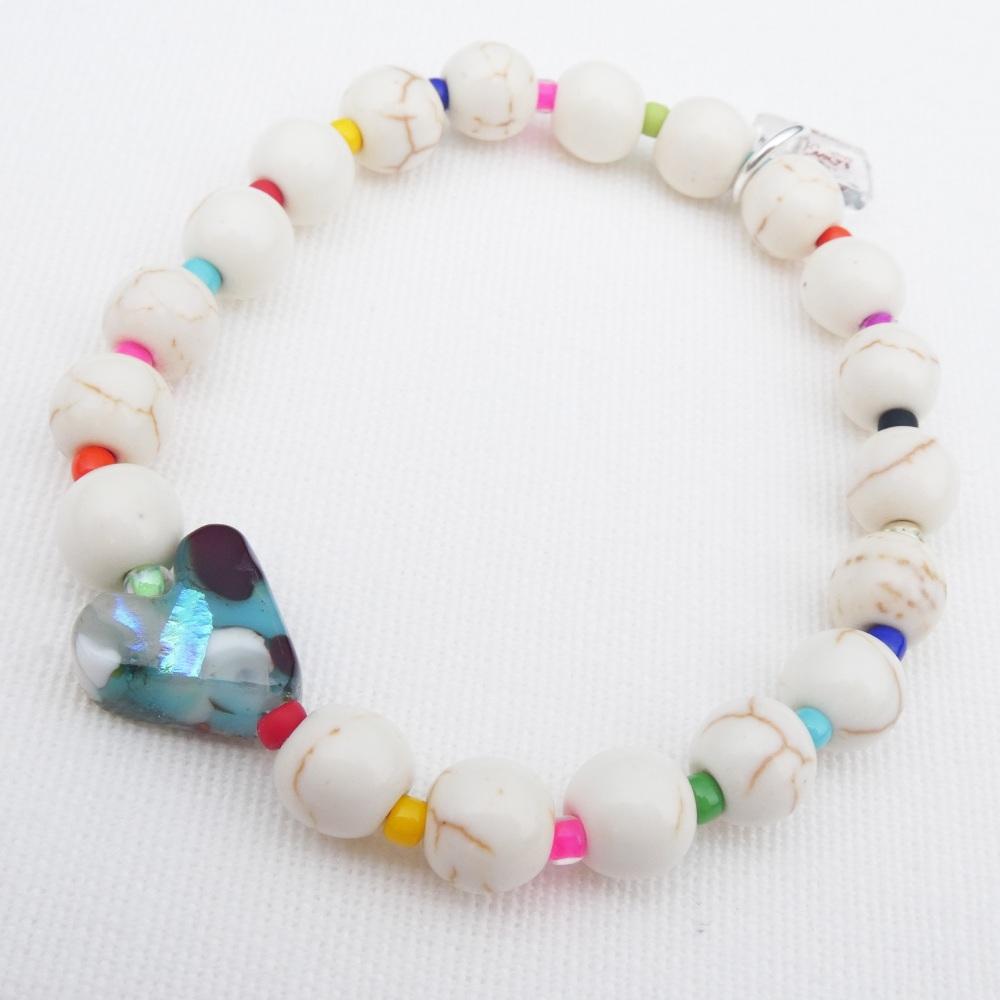 Ivory Howlite Bracelet