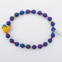 Navy simple joys bracelet