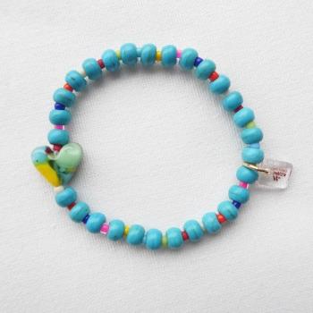 Oval Turquoise Howlite Bracelet