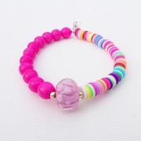 Pink Howlite Bracelet