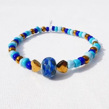 Little blue bead Bracelet