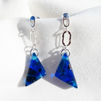 Sea Blue Earrings