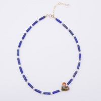 Lapiz Lazuli and Freshwater Pearl Necklace.