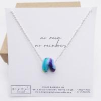 Glass Rainbow Necklace #2
