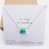 Glass Rainbow Necklace #4