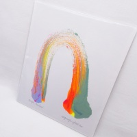 Bright Rainbow -Small Unframed painting