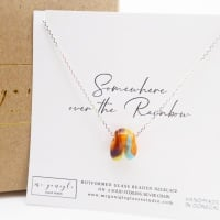 Glass Rainbow Necklace #2