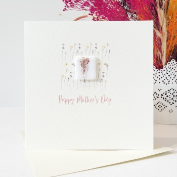 Happy Mother's Day card- Floral Pattern