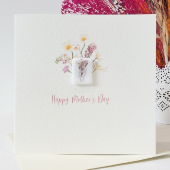 Happy Mother's Day card- Bunch of flowers