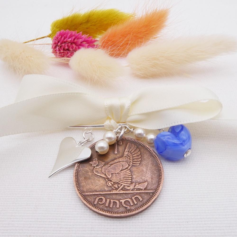 Bridal Wedding Pin