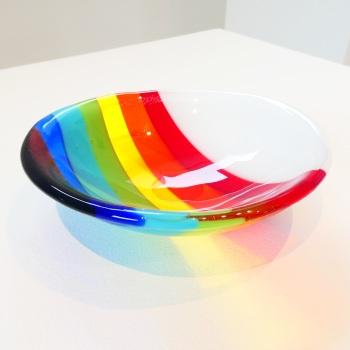 Small Retro Rainbow Bowl #2
