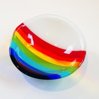 Small Retro Rainbow Bowl #4