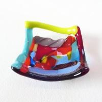 Tiny Fused glass Dish #5