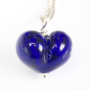 blue heart detail