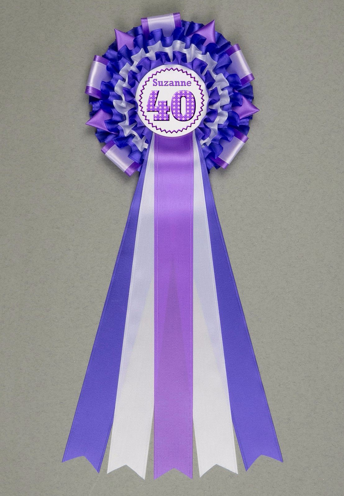 Something Special! Large Personalised Rosette - Any Wording You Like