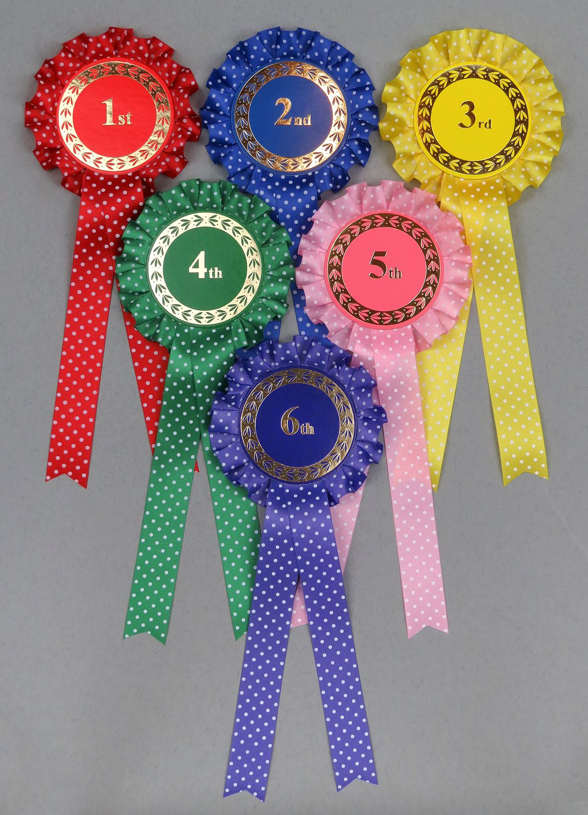 Spotty Rosettes 1st-3rd, 1st-4th or 1st-6th