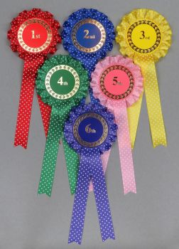 Spotty Rosettes 1st-6th