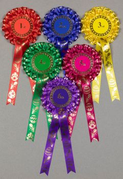 Easter Rosettes, 2-tier, Set x 1st-3rd, 1st-4th or 1st-6th