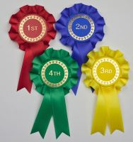 Mini Rosettes, Set of 1st - 4th or 1st - 6th