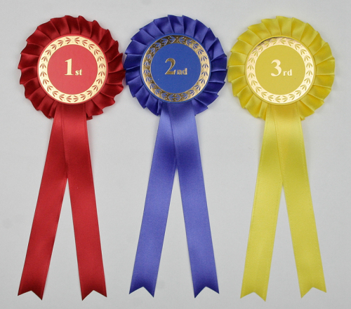 Classic Large 1-Tier Rosettes 1st-3rd/4th
