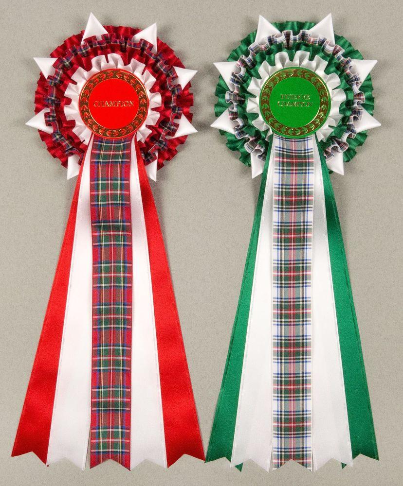 Christmas Champion/Reserve Tartan; BIS/RBIS