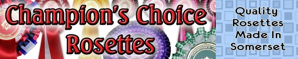 Champions Choice Rosettes, site logo.