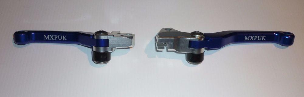 BLUE FLEXI LEVERS BRAKE & CLUTCH (620)