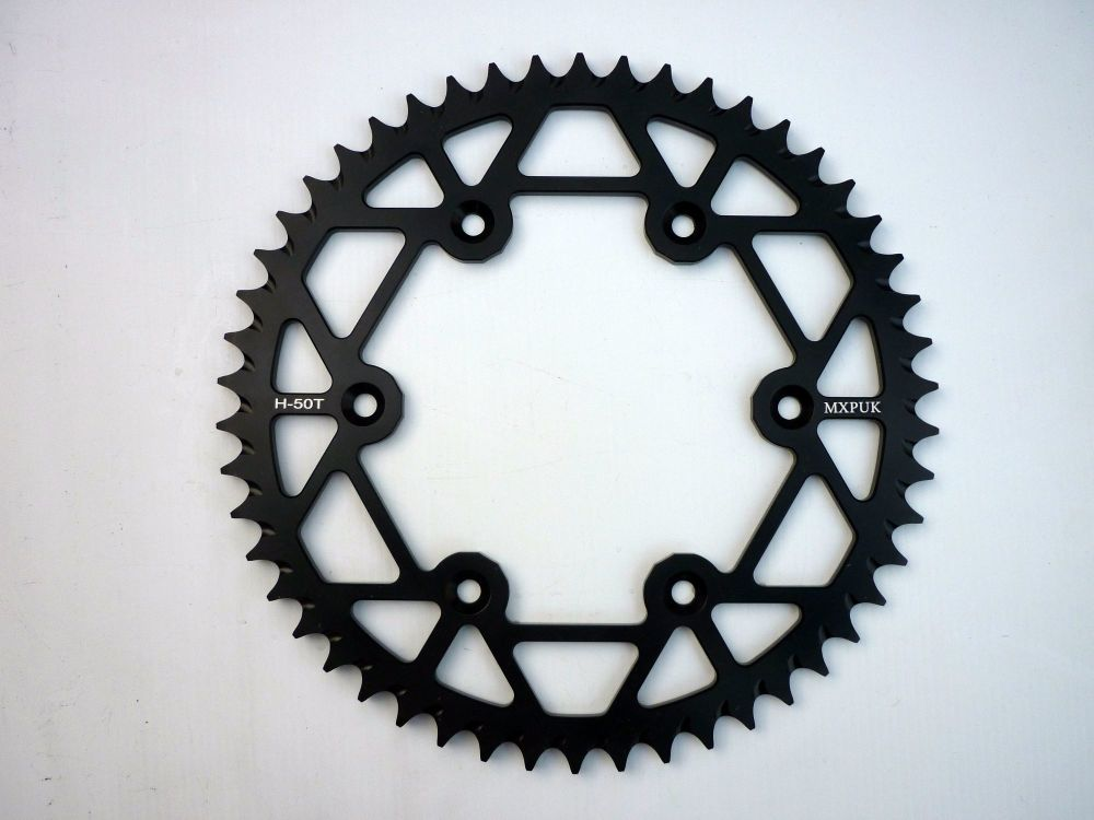 BLACK REAR SPROCKET 50T (553)