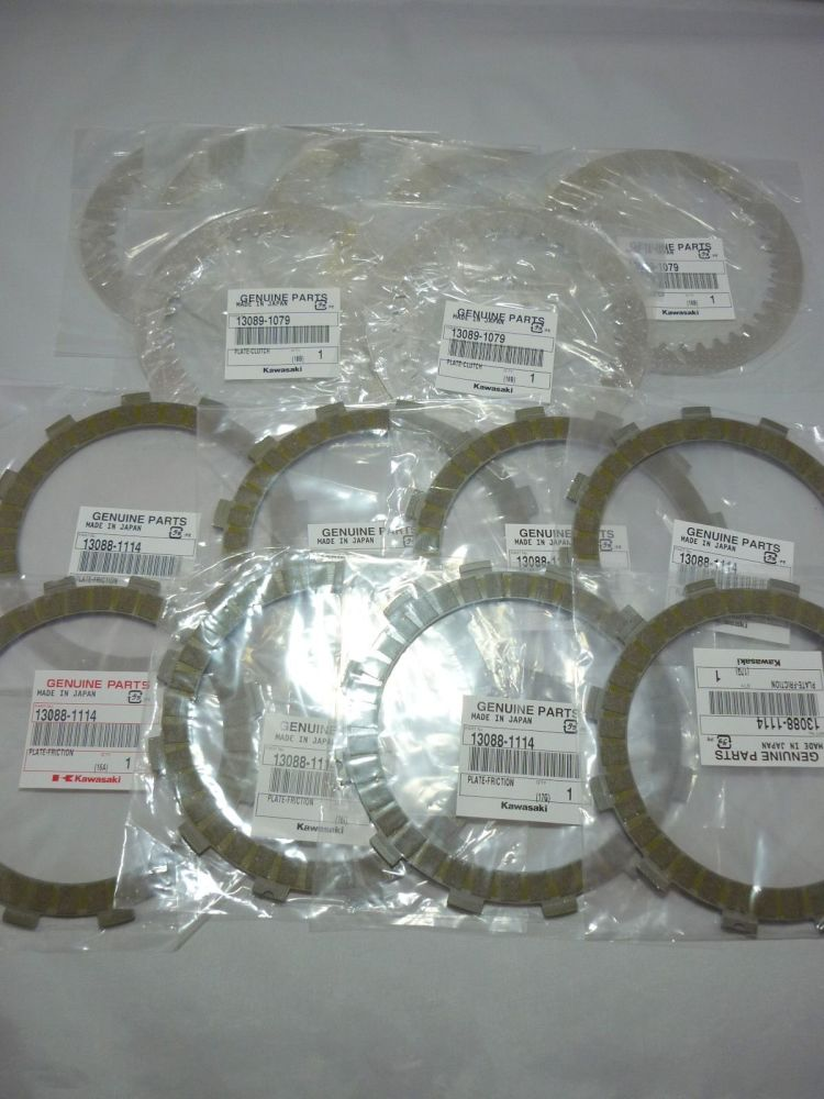CLUTCH FRICTION PLATES & CLUTCH PLATES 13088-1114 13089-1079 (626)