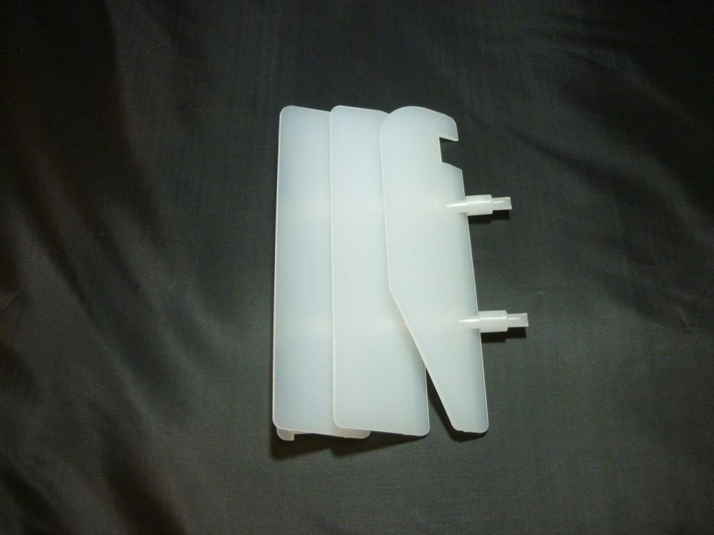 RIGHT SIDE WHITE RADIATOR GRILL 14037-1249-RZ