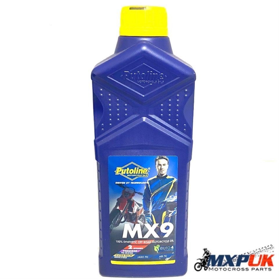 PUTOLINE MX9 100% SYNTHETIC 2 STROKE OIL 1 LITRE (085)