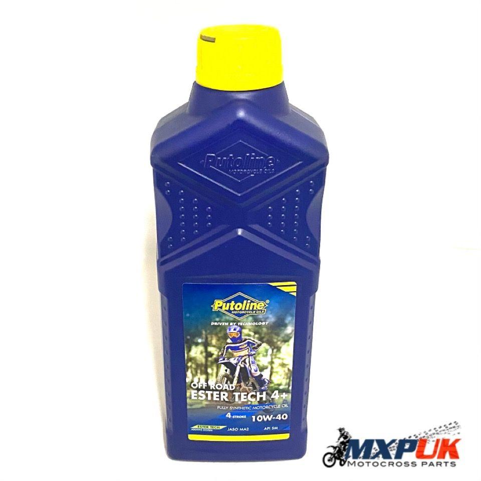 PUTOLINE ESTER TECH 4+ 10w-40 4 STROKE OIL (081)