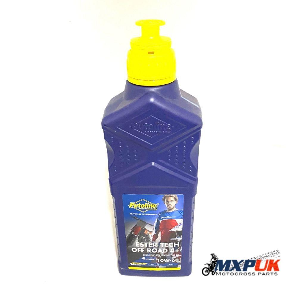 PUTOLINE 10w-60 ESTER TECH 4 STROKE OIL 1 ltr  (083)