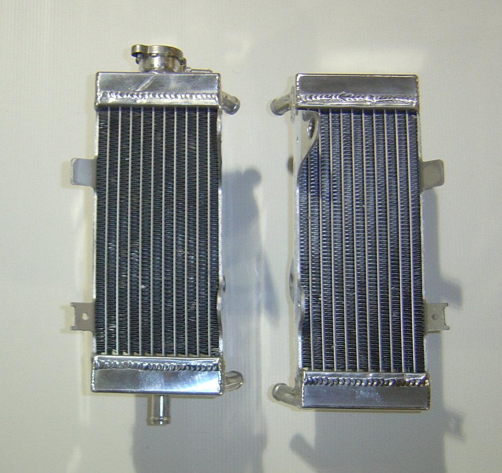 2012 PAIR OF CRF250R PERFORMANCE RADIATORS MX014
