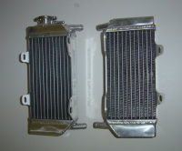 2009 PAIR OF CRF250R PERFORMANCE RADIATORS MX015