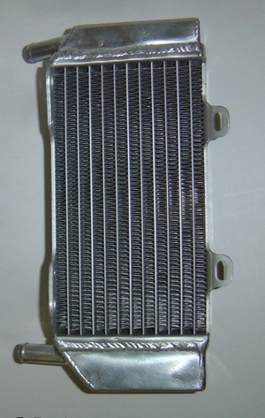 2005 LEFT SIDE CRF250R PERFORMANCE RADIATOR MX015B