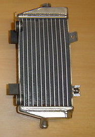 2014 LEFT SIDE CRF450R PERFORMANCE RADIATOR MX008B
