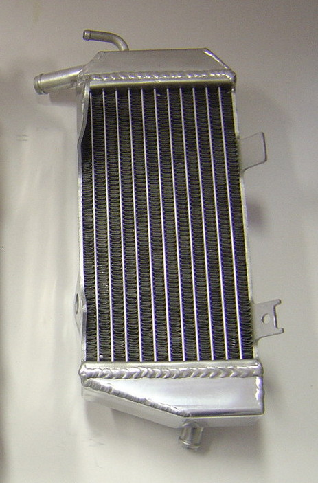 2010 LEFT SIDE CRF450R PERFORMANCE RADIATOR MX007B