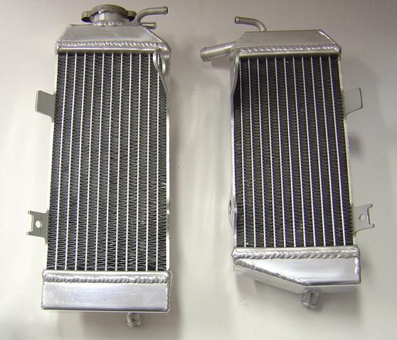 2009 PAIR OF CRF450R PERFORMANCE RADIATORS MX007