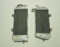 2008 PAIR OF CRF450R PERFORMANCE RADIATORS MX017