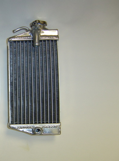 2004 RIGHT SIDE CRF450R PERFORMANCE RADIATOR MX016A